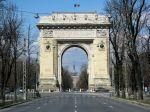 The Arc de Triomphe,Bucharest