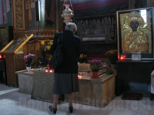The tomb of Constantin Brancoveanu, Sf Gheorghe Church, Bucharest