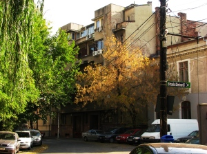 Bucharest, historical middle class residential district