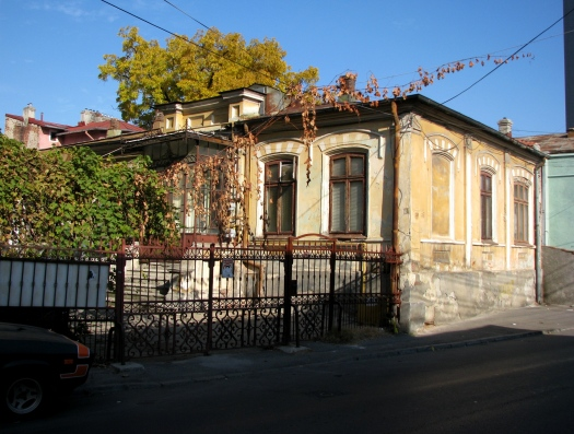 Characteristic 19th century middle class home Bucharest