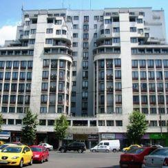 Ambasador Hotel (1937-1939, arch. Arghir Culina) Magheru Bld Bucharest