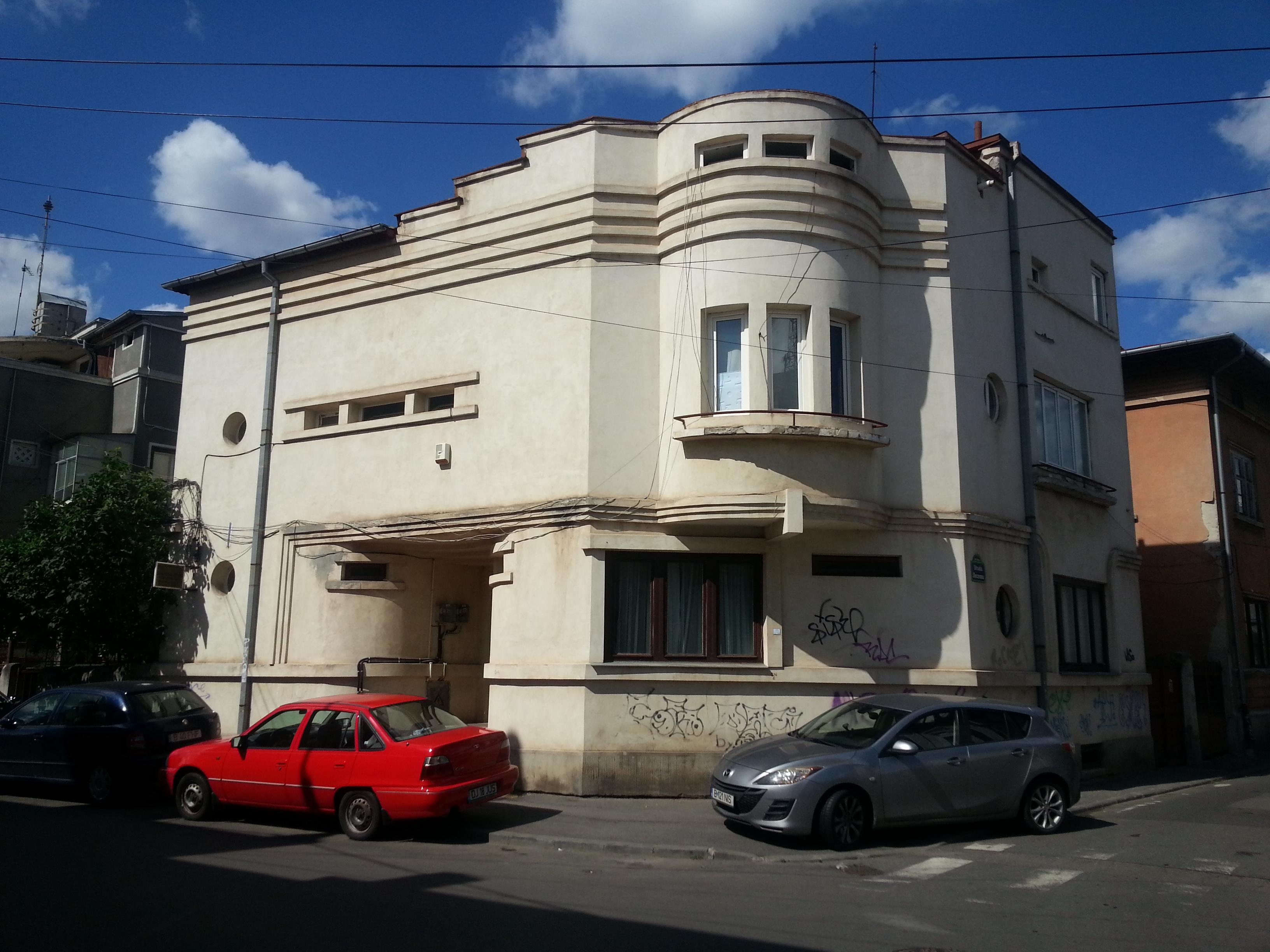 Bucharest modernism art deco architecture 25 - What is art deco ...
