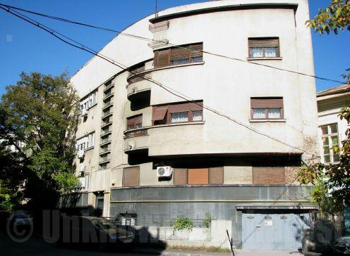 Art Deco apartment building, central Bucharest