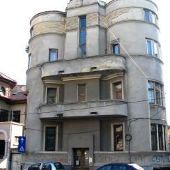 Art Deco building, central Bucharest