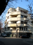 Art Deco apartment building, central Bucharest