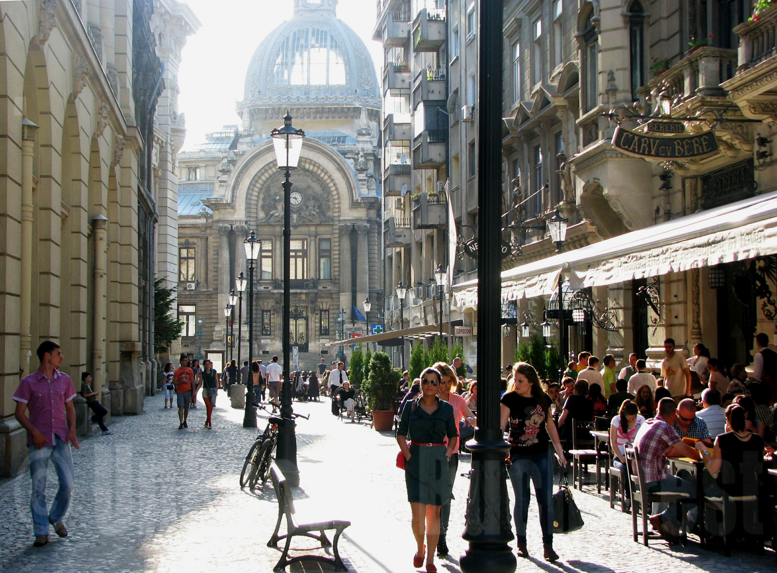 Bucharest Romania  City pictures : Caru' cu Bere 1879 | Bucharest & Romania Tours by Cris Private ...