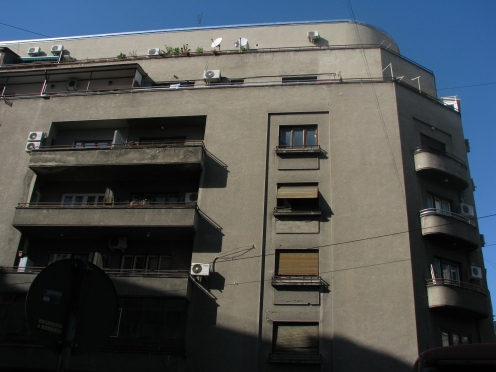 Apartment building (1933-1935), arch. G M Cantacuzino central Bucharest