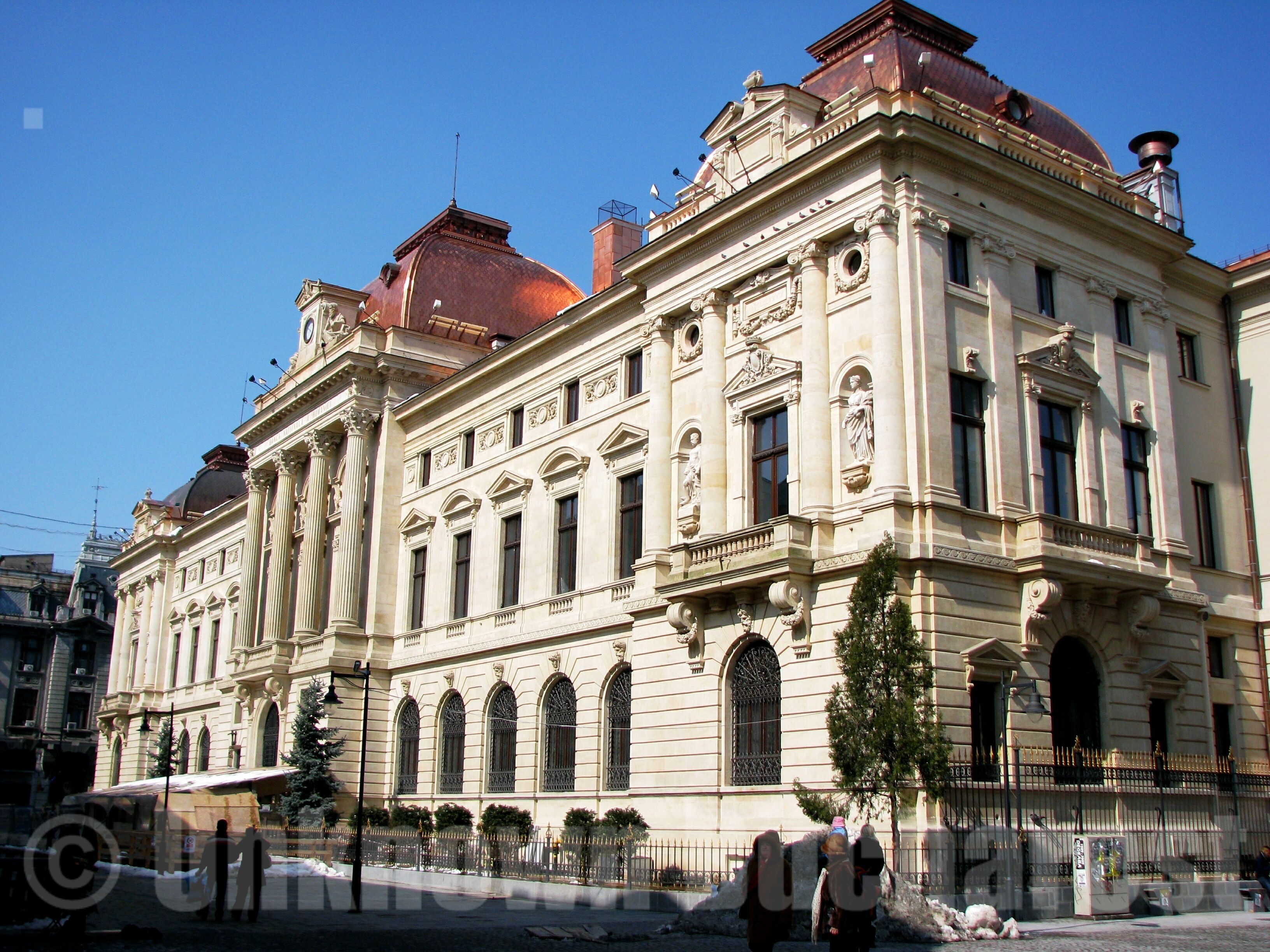 national bank palace bucharest  bucharest romania private tours  cris
