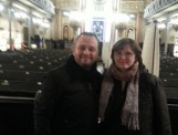 A wonderful guest of my Bucharest Jewish Heritage Tour