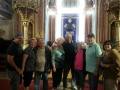Group photo at Great Synagogue during my Bucharest Jewish Heritage Tour