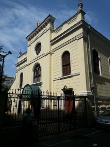 Great Synagogue Bucharest Jewish Quarter