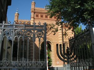 Jewish Bucharest tour, the Choral Temple