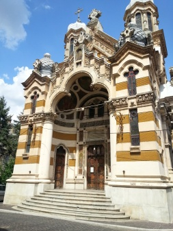 Amzei Church (1901) central Bucharest