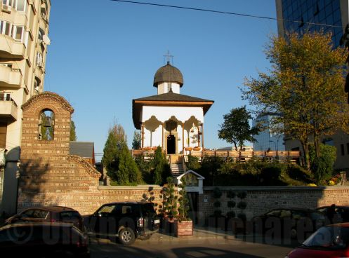 """Bucur the Shepherd"" Church, central Bucharest"