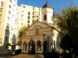 Cuibul cu Barza Church (1760) Bucharest (photo Dec 2009)