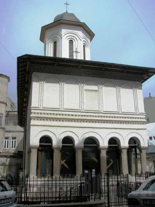 Doamnei Church, Bucharest (1675)