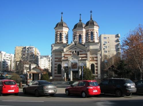 Dobroteasa Church (rebuilt 1892), central Bucharest