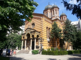 Domnita Balasa Church (1881-1885) downtown Bucharest