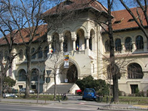 Geology Museum (1908), architect Victor Stephanescu, Bucharest