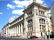 National History Museum Palace, central Bucharest