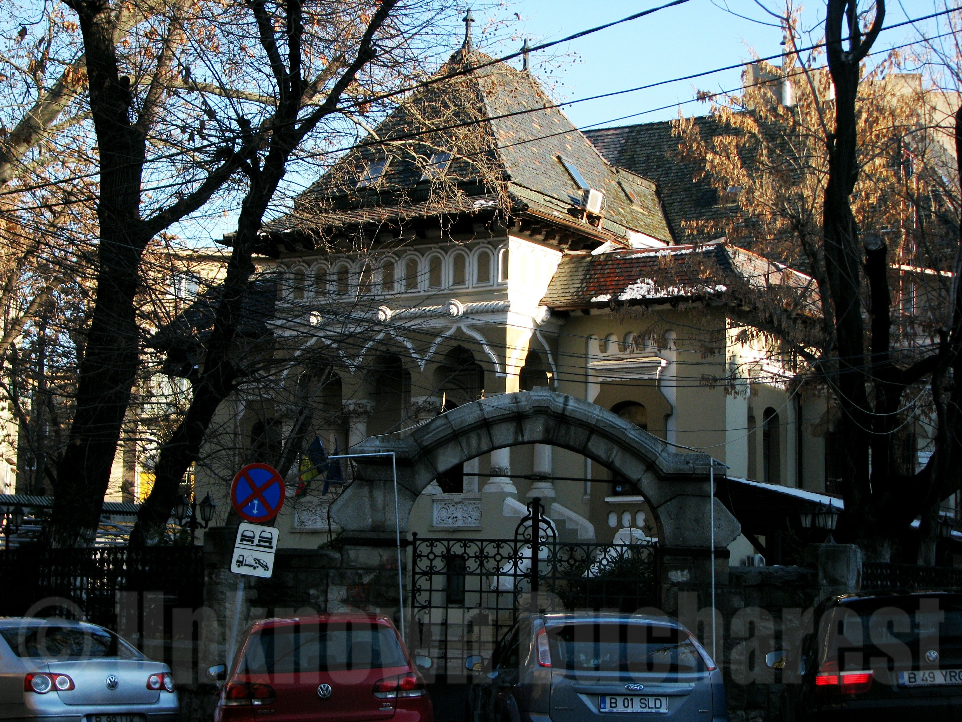 Oprea soare house 1910 architect petre antonescu bucharest bucharest romania private - Neo romanian architecture traditional and functional house plans ...