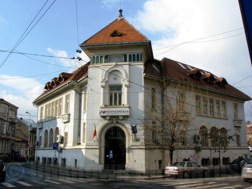 Public administration building (1917), Bucharest, architect Statie Ciortan