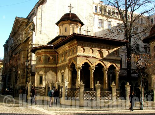 Stavropoleos Church, Old Town, Bucharest (1724)