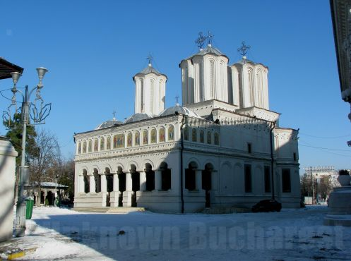 The Patriarchal Cathedral, Bucharest (1655)