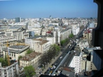 Downtown Bucharest top view