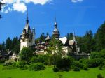 Peles Castle in Sinaia, Romania, former summer residence of the Romanian Royal family
