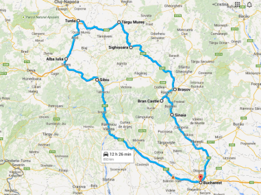 4-Day Transylvania Tour