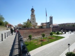 Alba Iulia, view to the ReunificationCathedral