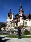 Marveling at Peles Castle, one of the world's most famouscastles
