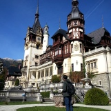 Marveling at Peles Castle, one of the world's most famous castles