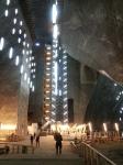 Inside Turda Salt Mine,Transylvania