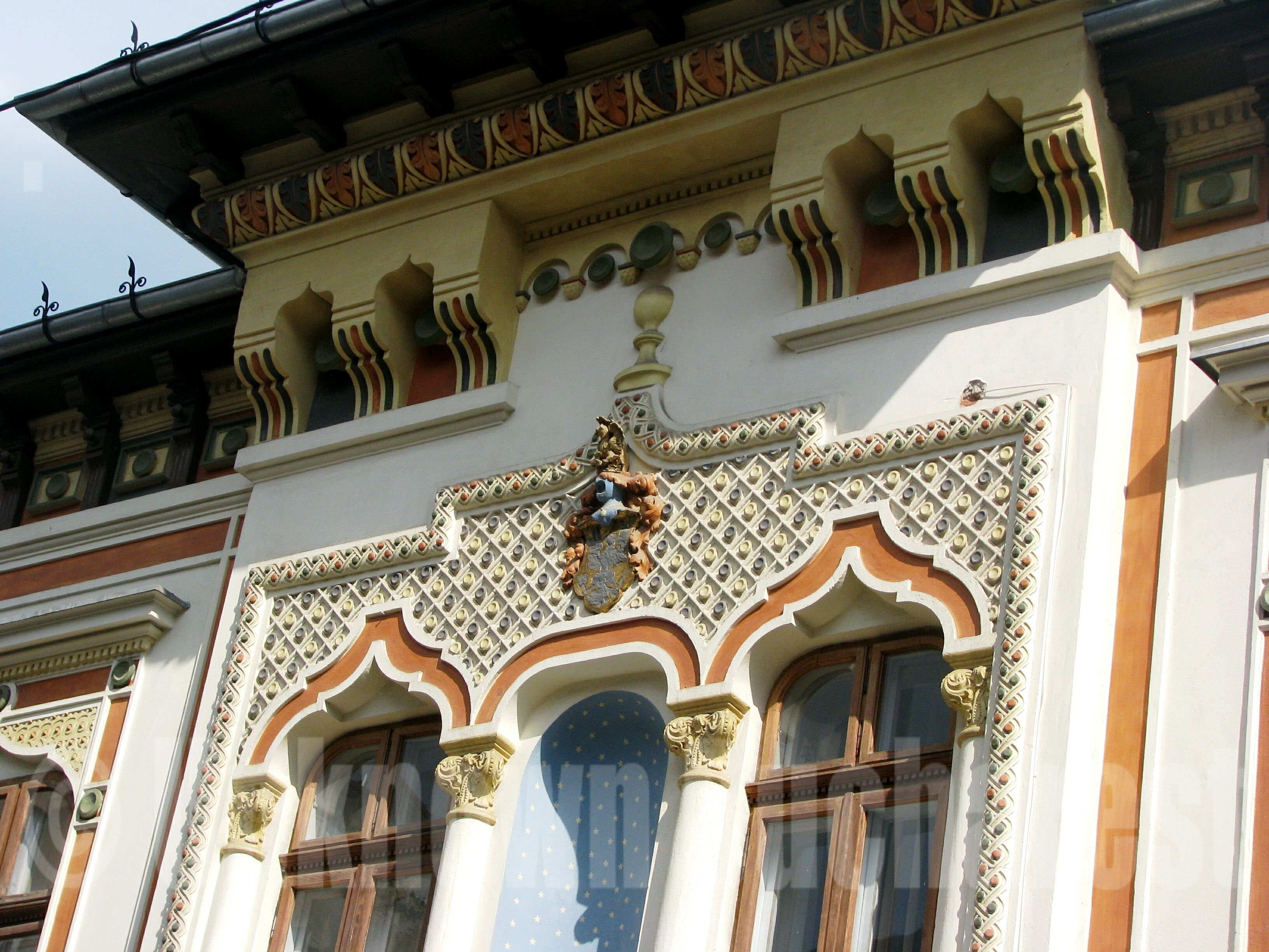 Early neo romanian style building in bucharest s old town bucharest romania tours by cris - Neo romanian architecture traditional and functional house plans ...