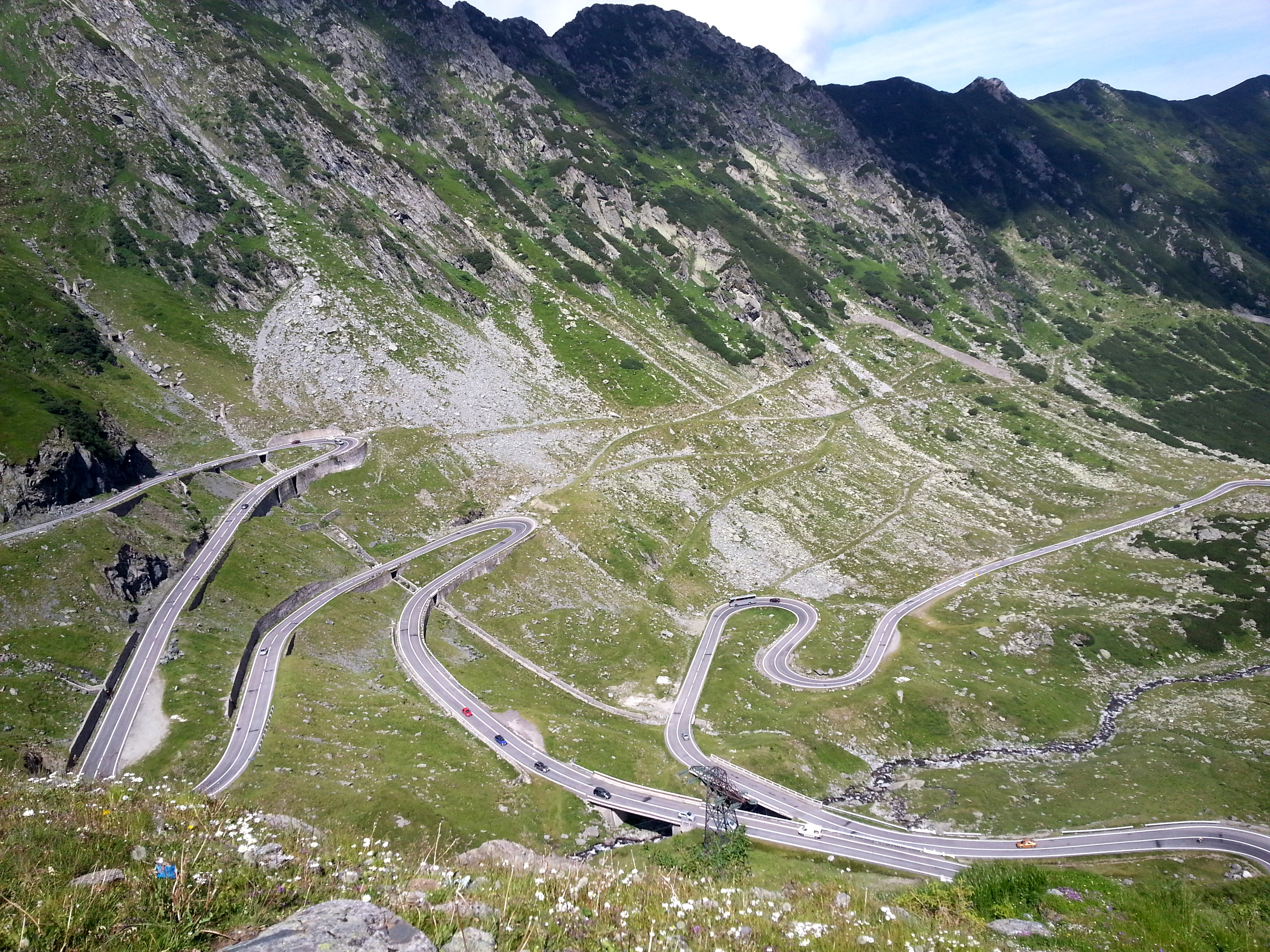 View Of Transfagarasan Highway Bucharest Uncovered