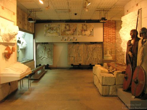 Romanian National Military Museum, room dedicated to the Dacian antiquity period
