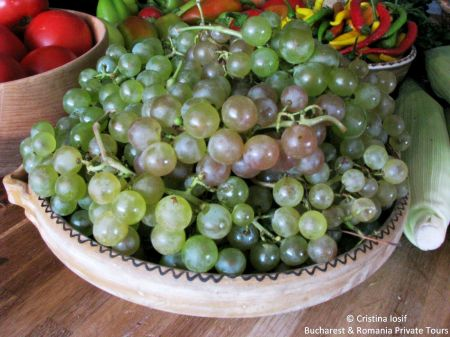Autumn Grapes Romania