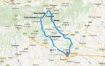 Day-Tour Bran Castle Rucar Pass ItineraryMap