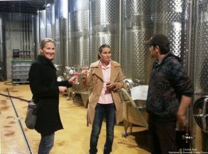 Lacerta Winery wine tasting, Sep 2013