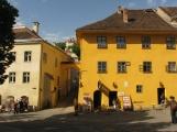 The house where Dracula was born in Sighisoara, Transylvania
