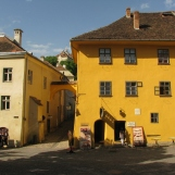 The house where Dracula was born in Sighisoara, Transylvania