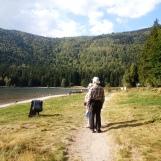 Stroll at St Ana Lake, Eastern Carpathians, Transylvania, Oct 2014