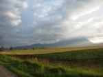 Rural landscape on the way to Bran Castle – Burzerland ('TaraBarsei')