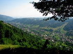 View over Moieciu Village, Branarea