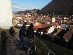 A Great Overview of Brasov, Transylvania, March 2017