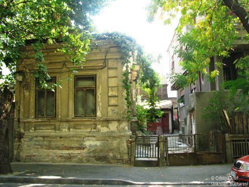 House on Strada Traian Bucharest Sep 2013