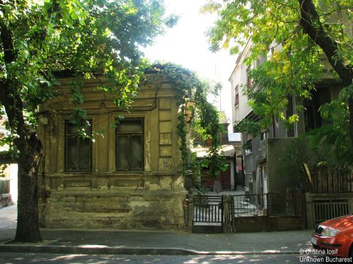 Houses Strada Traian Bucharest Sep 2013