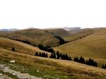 Panoramic view of Bucegi Mountains Plateau, Romanian Carpathians, Sep2013